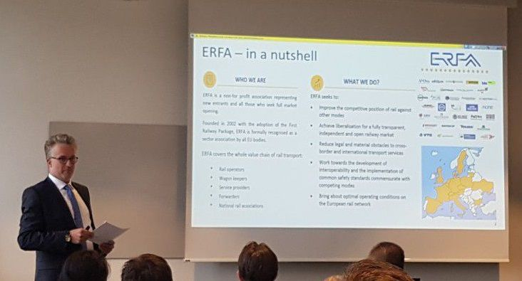 ERFA's presentation at the first annual IRG-Rail Forum