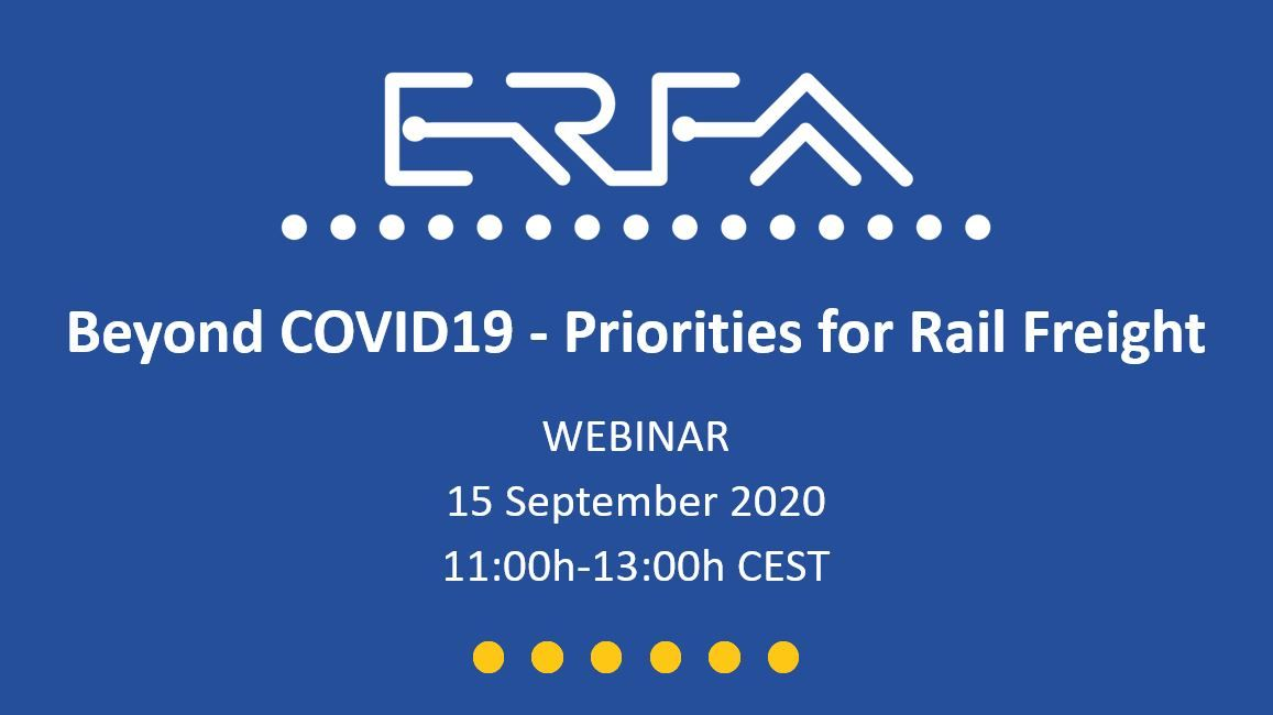 Beyond COVID19 - Priorities for Rail Freight